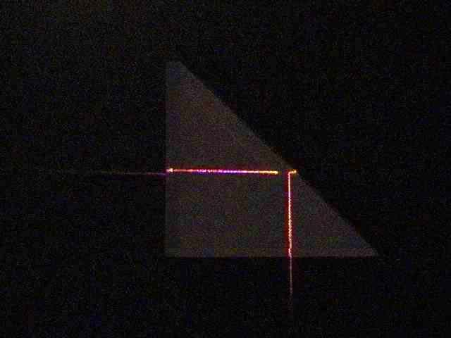 Total Internal Reflection with Lasers